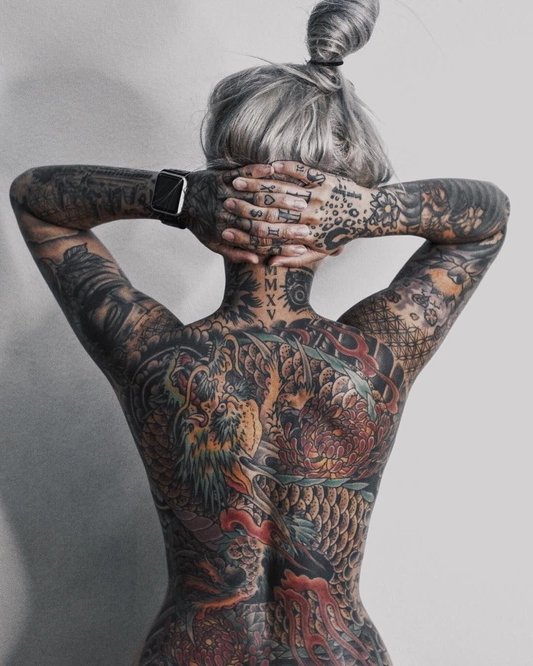 Tattoo Ganzer Körper