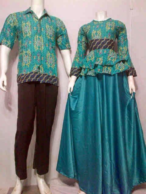 Baju Gamis Batik Modern Motif Songket Call Order 085 959 844 222