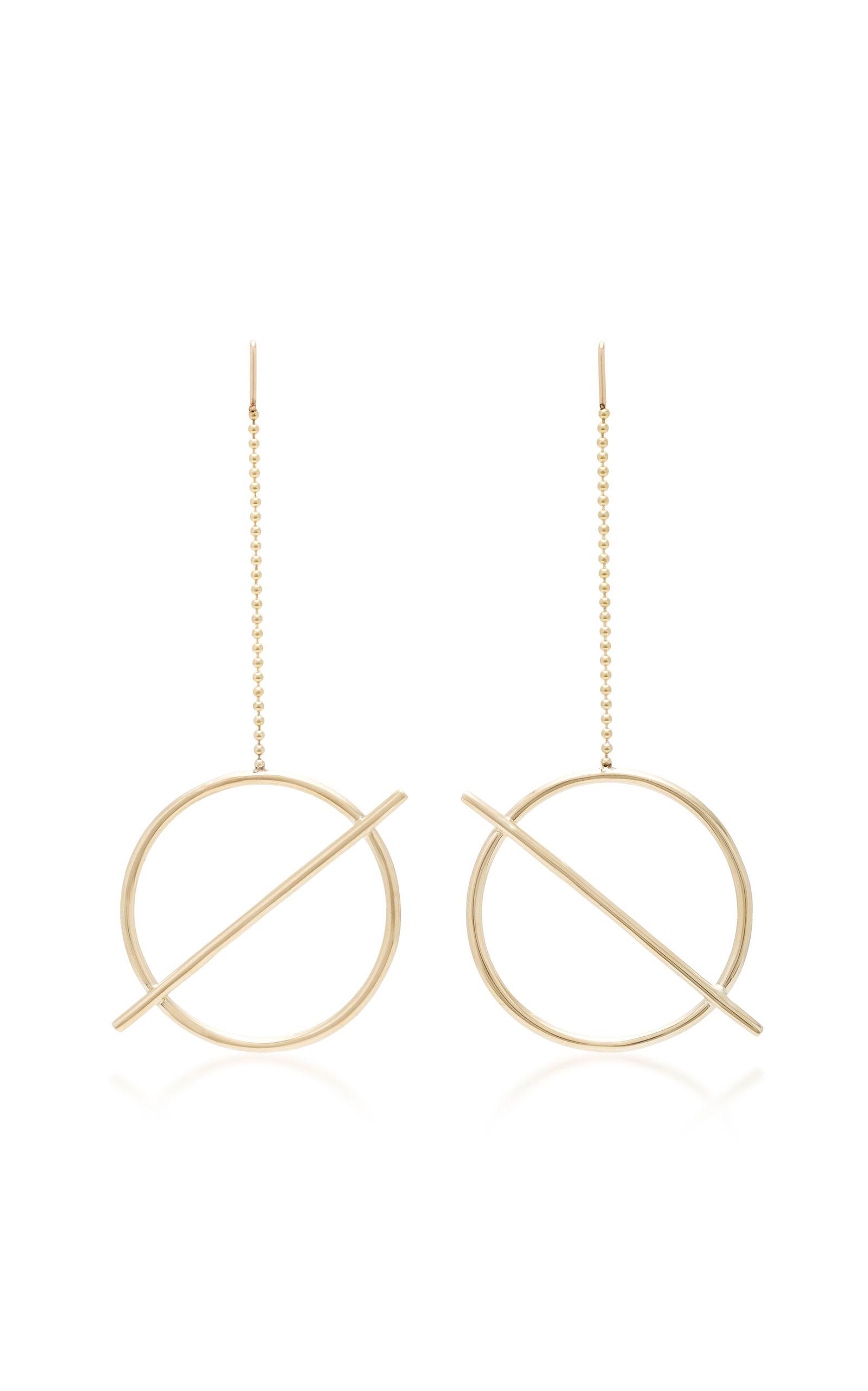 Aquilo 14K Gold Earrings Pili Restrepo K3cpsm