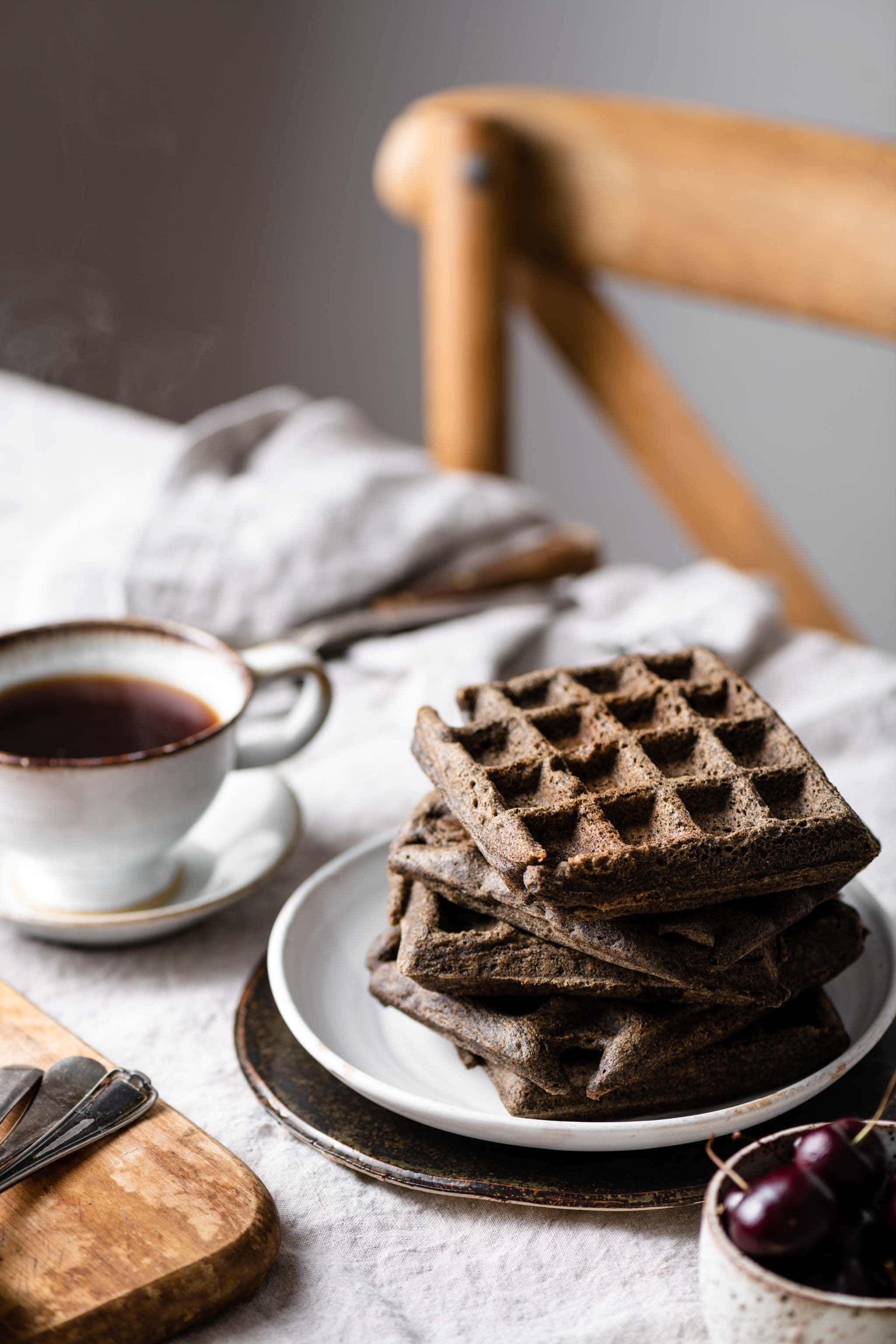 Gluten free buckwheat waffles two cups flour resep di 2020