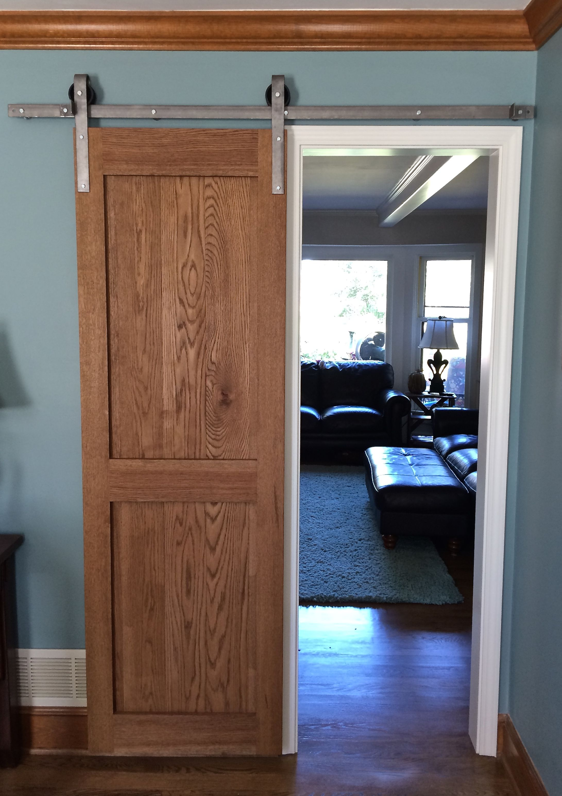 White Oak Barn Door 2u00270