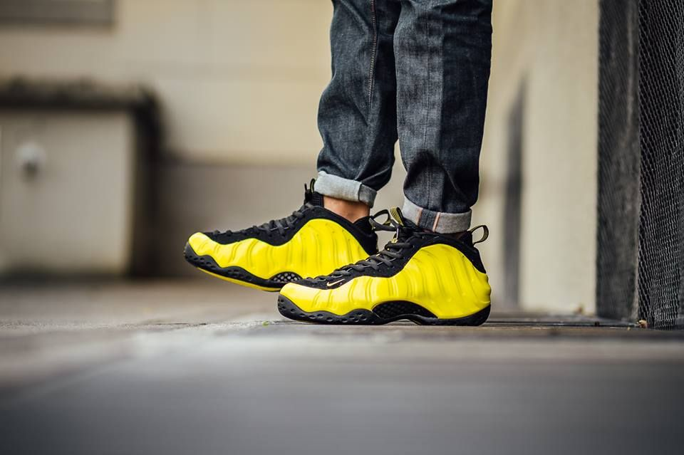 9769491188b These On-Feet Pictures Of The Nike Air Foamposite One Wu-Tang (Optic Yellow)  Make You Wanna Pick Up A Pair
