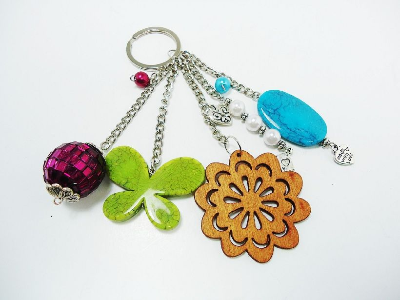 Handmade Summer Keychain $11