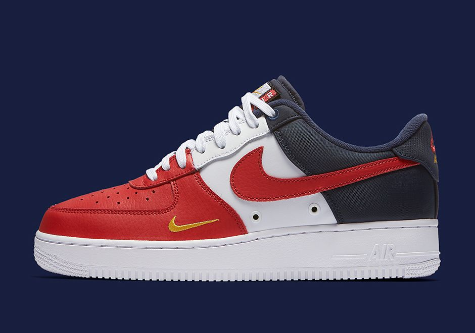 san francisco 16ea3 b0820 The Nike Air Force 1 Low is getting patriotic with red, white, blue ...