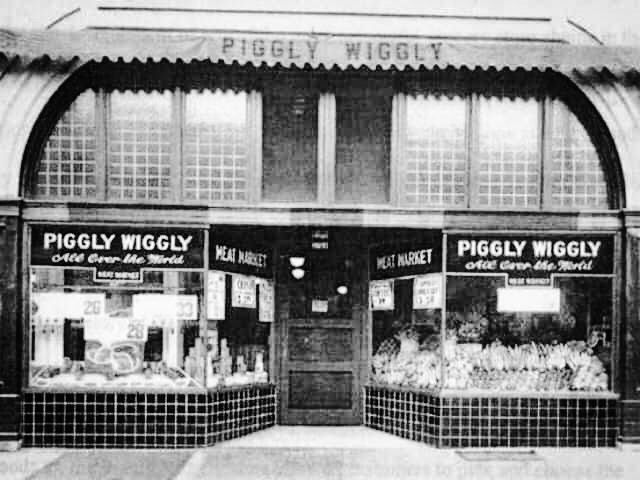 Image result for clarence saunders piggly wiggly