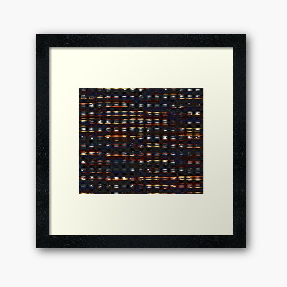 Scan Lines By Genuineburke Redbubble Perlin Noise Generative Art Visual Art