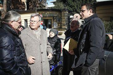 Pescara, barriere discriminanti: sopralluogo in ospedale - Attualità - Primo Piano