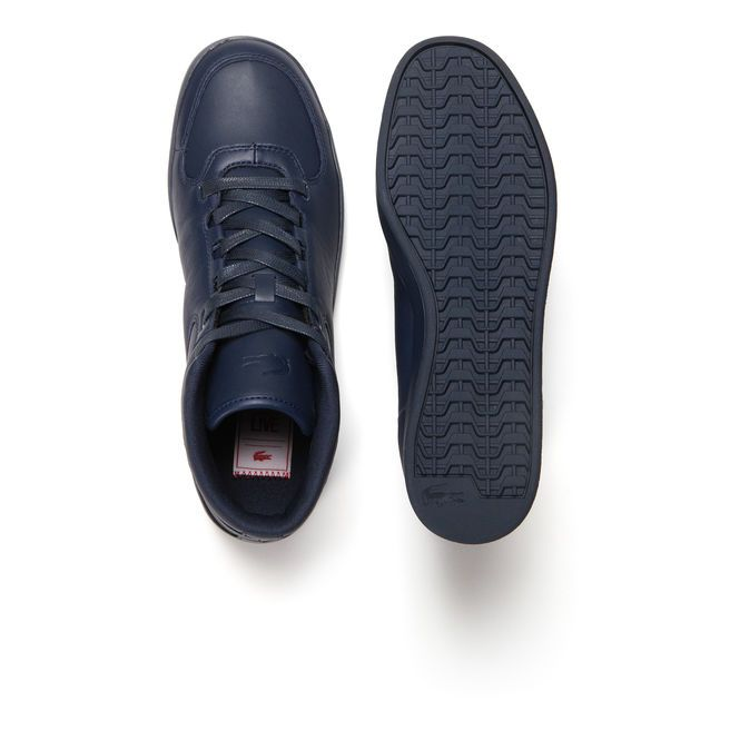 0f379698fb Lacoste LIVE Vedren high-top sneakers in leather | Men's & Women's ...