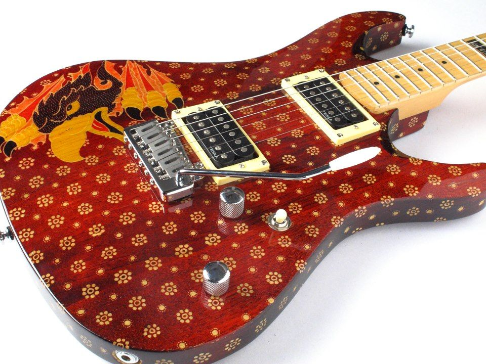 G B Guitars From Indonesia Is About Great Sound And Beautiful Batik This What They Say About Themselves Our Guitar Guitar Custom Electric Guitars Guitar Art