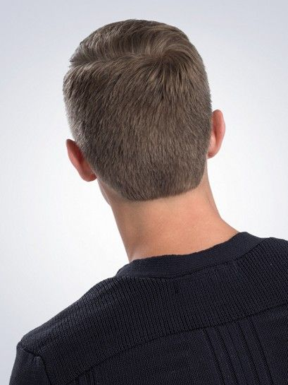 classic clipper cut with rounded