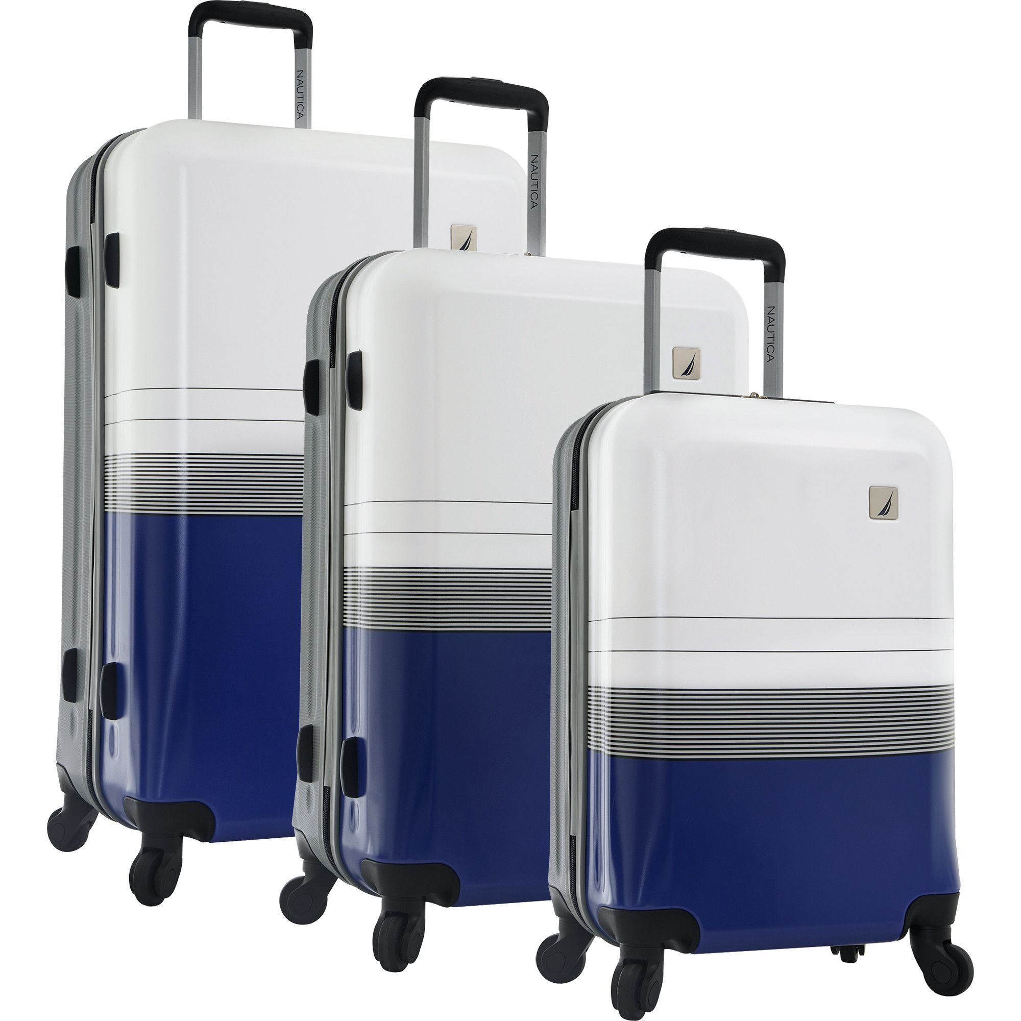 02f19de5436d Nautica Tye Harbor 3 Piece Hardside Spinner Luggage Set | Products ...
