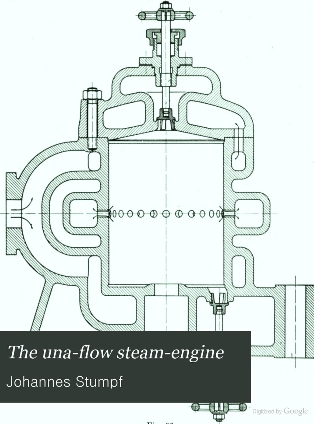The Una Flow Steam Engine Johannes Stumpf Google Books Diagram