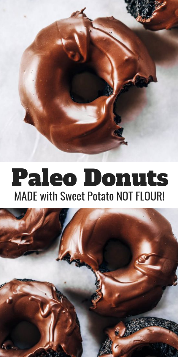 Photo of Healthy Chocolate Donuts Made With Sweet Potato