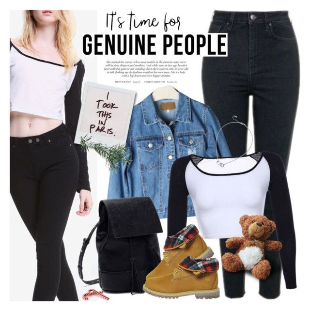 """GENUINE PEOPLE - It's time for shopping!"" by anita-n ❤ liked on Polyvore featuring Timberland"