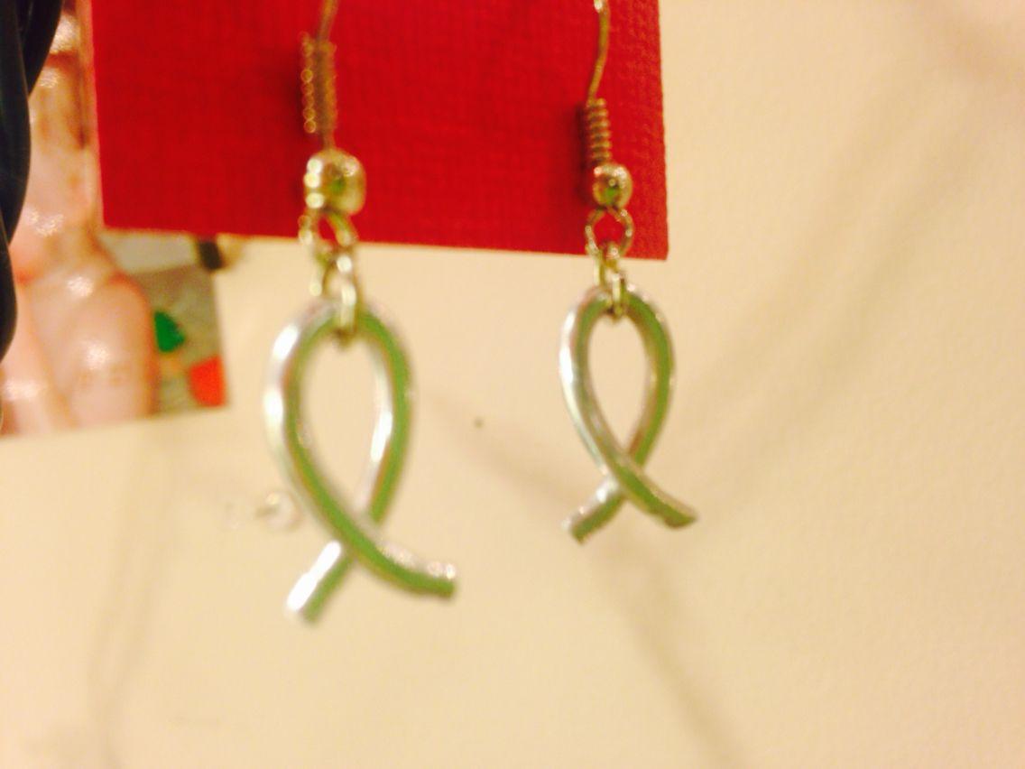Jesus fish earrings