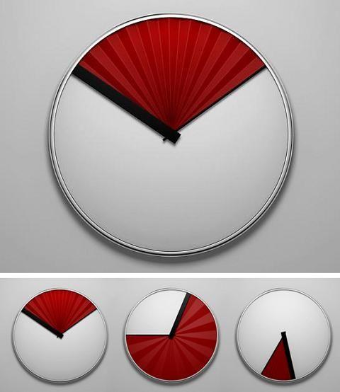 une pendule façon ventilateur | horloge, horloge design et design
