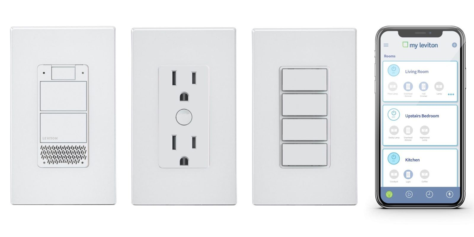 Leviton shows off Decora Voice smart light switch with built