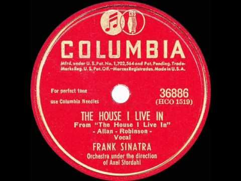 1946 HITS ARCHIVE: The House I Live In - Frank Sinatra