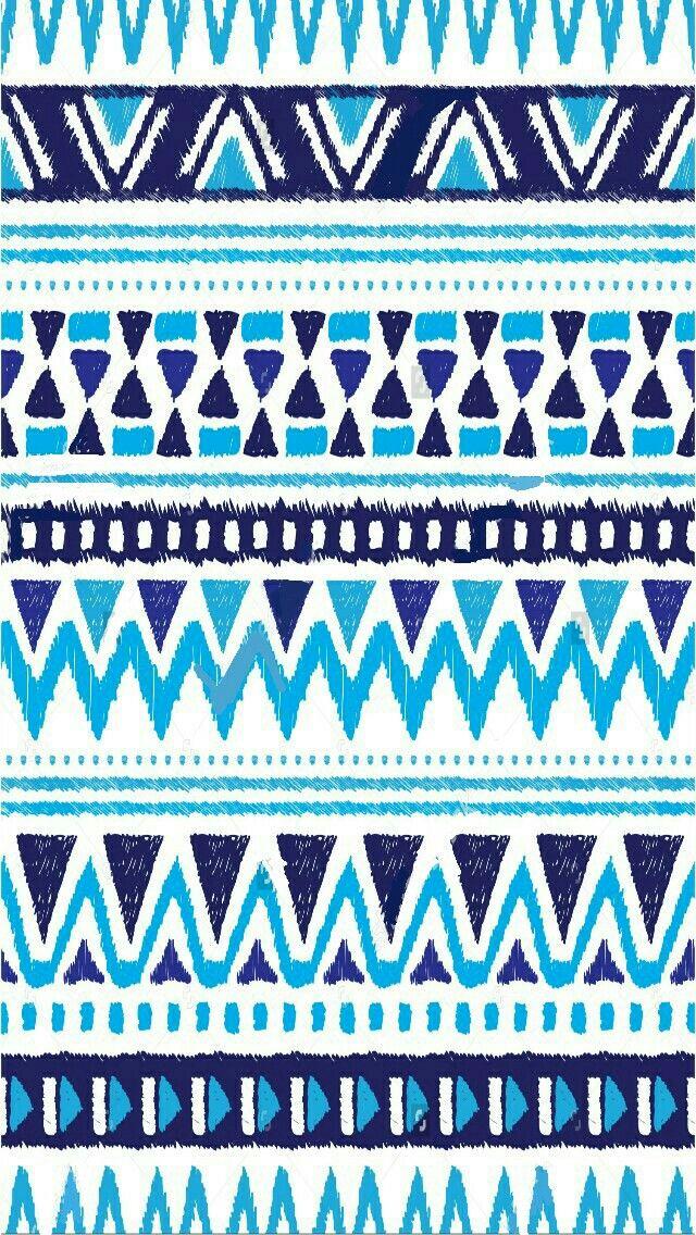 Tribal tumblr iPhone wallpaper blue Native american
