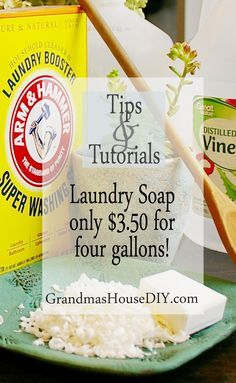 Homemade laundry detergent diy only 350 for 4 gallons solutioingenieria Image collections