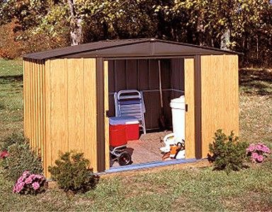 Arrow Woodlake 10x8 Storage Shed Garden Storage Shed Steel Storage Sheds Steel Sheds