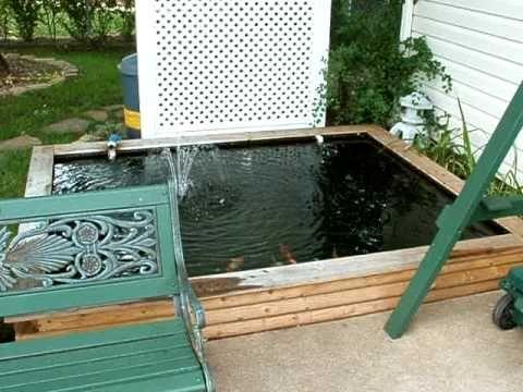 Small Backyard Koi Pond 1000 1200 Gal Ez Build Diy Small Backyard Ponds Ponds Backyard Small Backyard