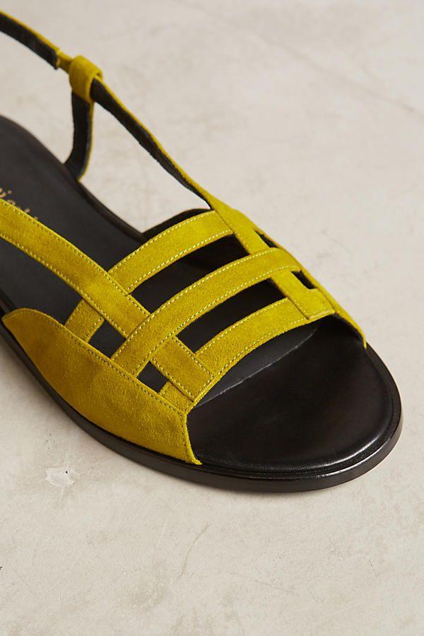 f3518cb8bfb Slide View  4  Megumi Ochi Citron Slingback Sandals