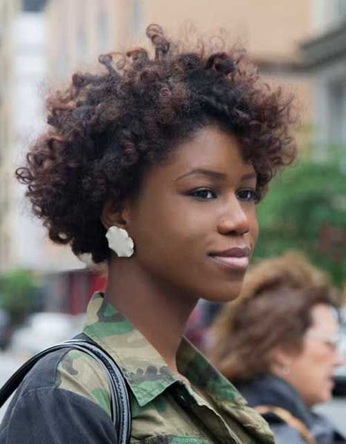 Short Afro Hairstyles Interesting 25 Short Curly Afro Hairstyles  Short Curly Afro Curly Afro And