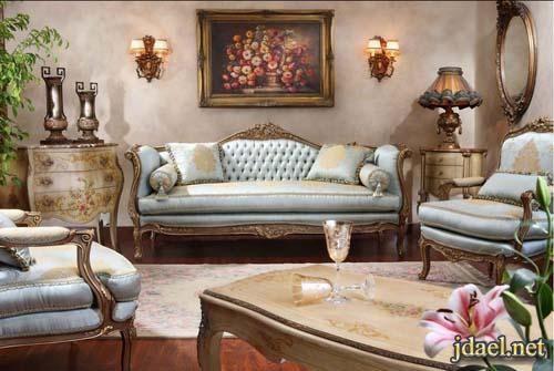 موديلات كنب امريكي كلاسيك تصميم كبتيون بالوان عصريه Classic Furniture Design Classic Furniture Furniture Design