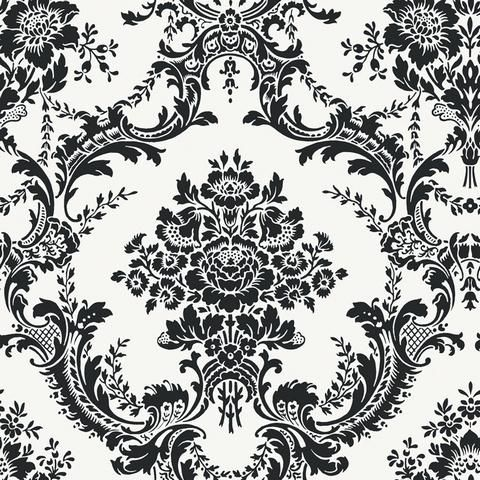 Black And White Wall Paper bc1582134 | designcolor/black and white | totalwallcovering