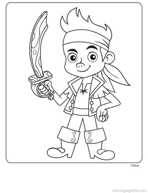 Jake And The Never Land Pirates Free Printable Coloring Pages