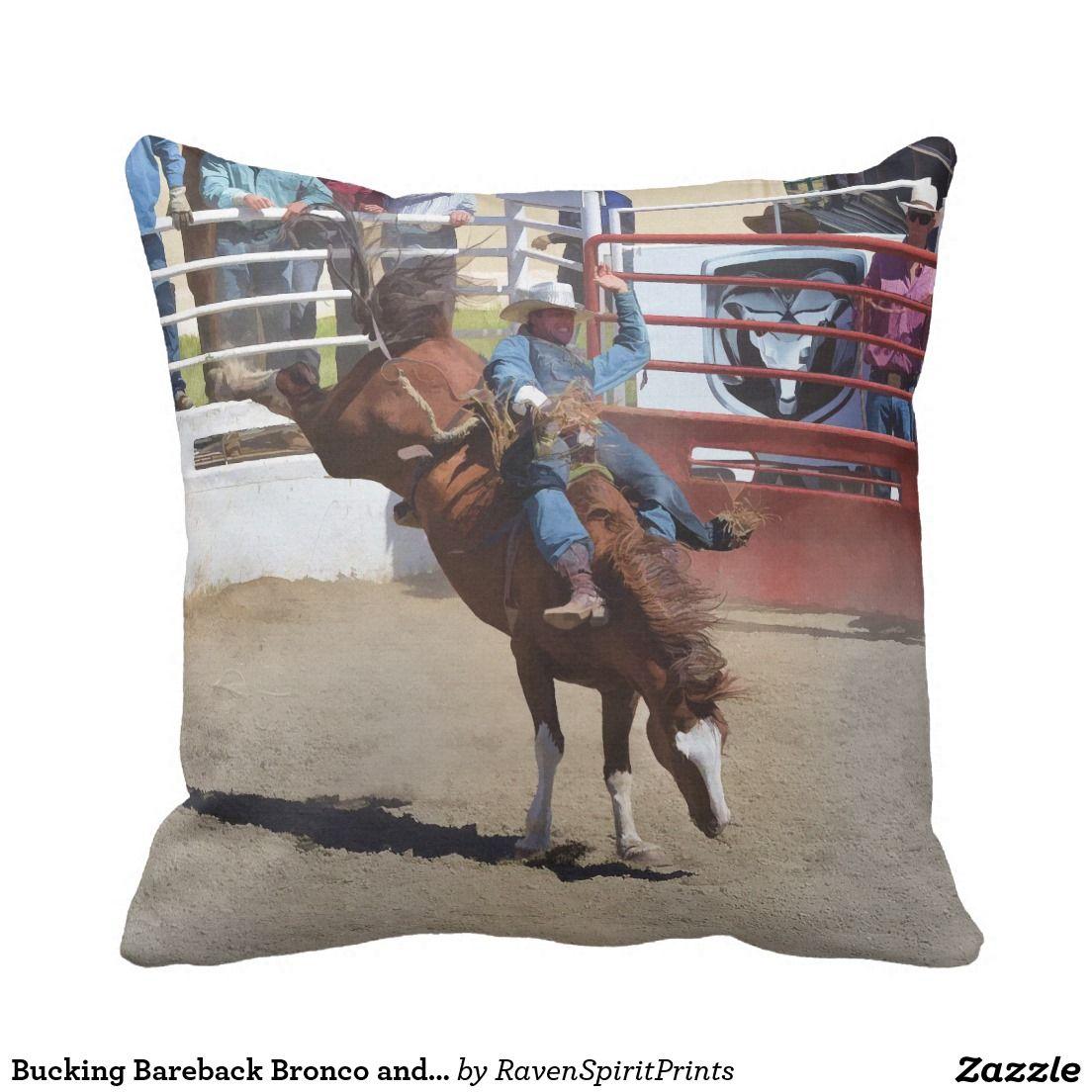 Western Art2 Throw Pillow western