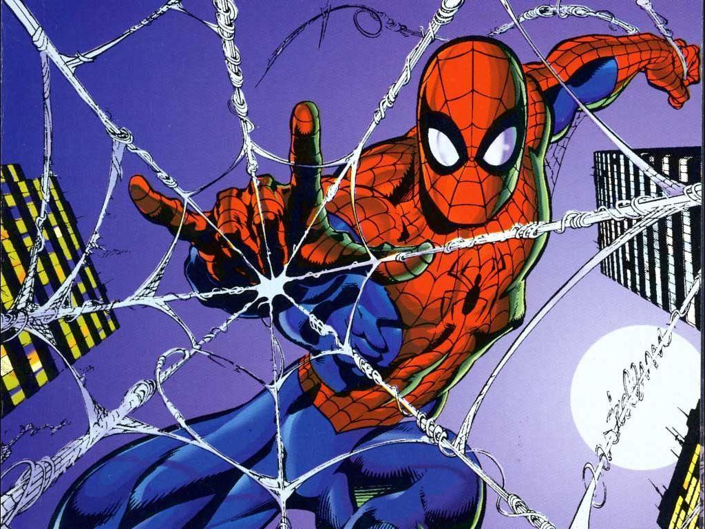 День рождения, открытка с днем рождения с человеком пауком