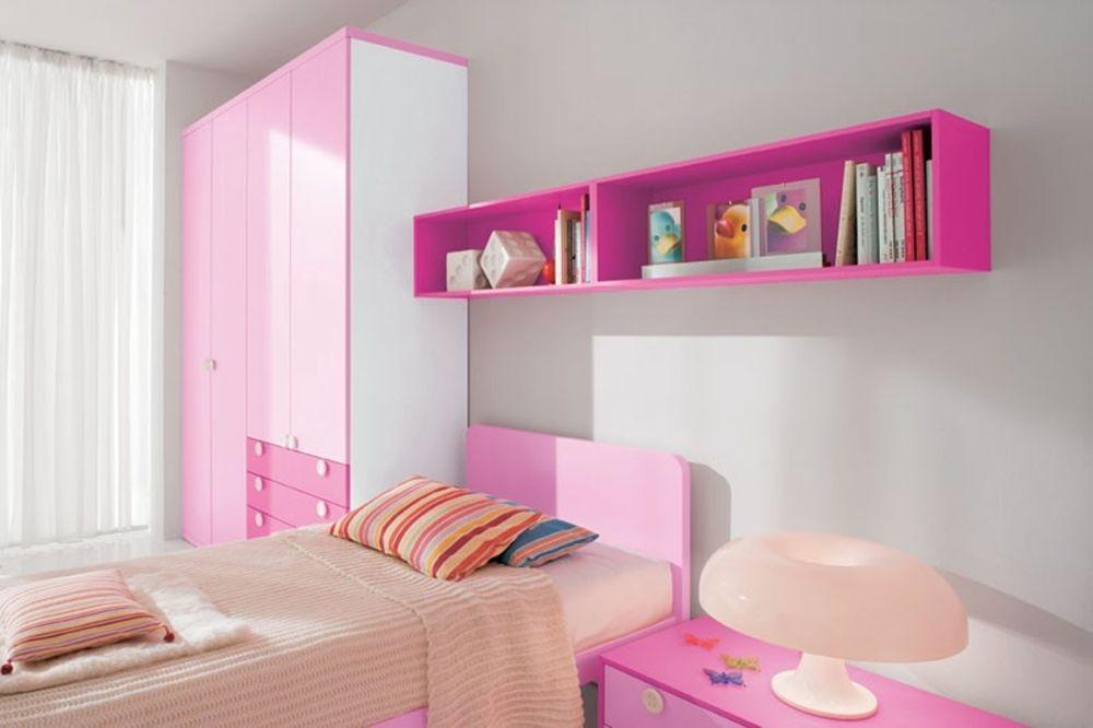Girls Bedroom Design With Simple Elegance
