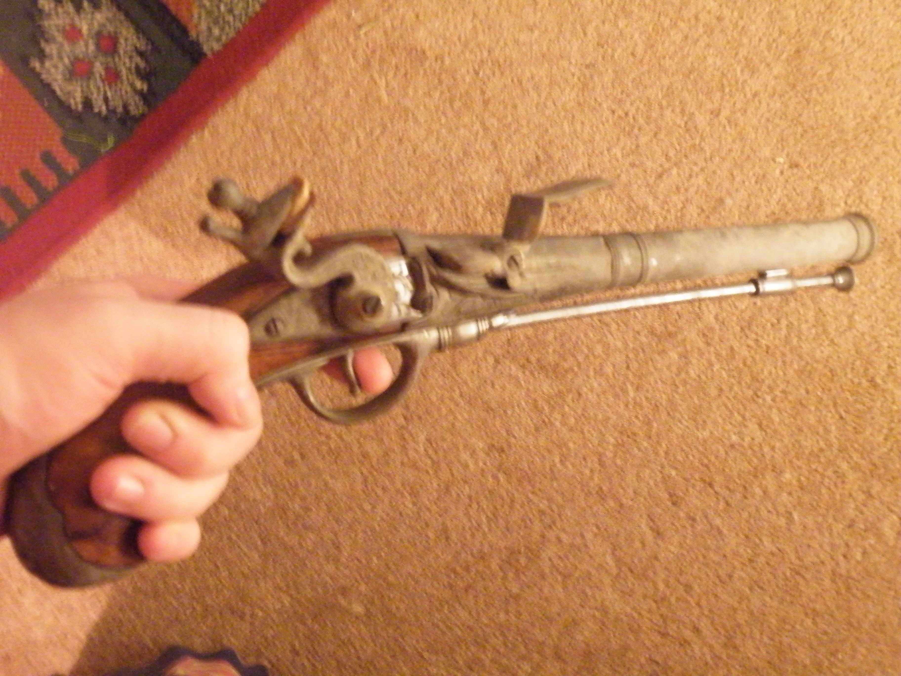 C18th replica duelling pistol