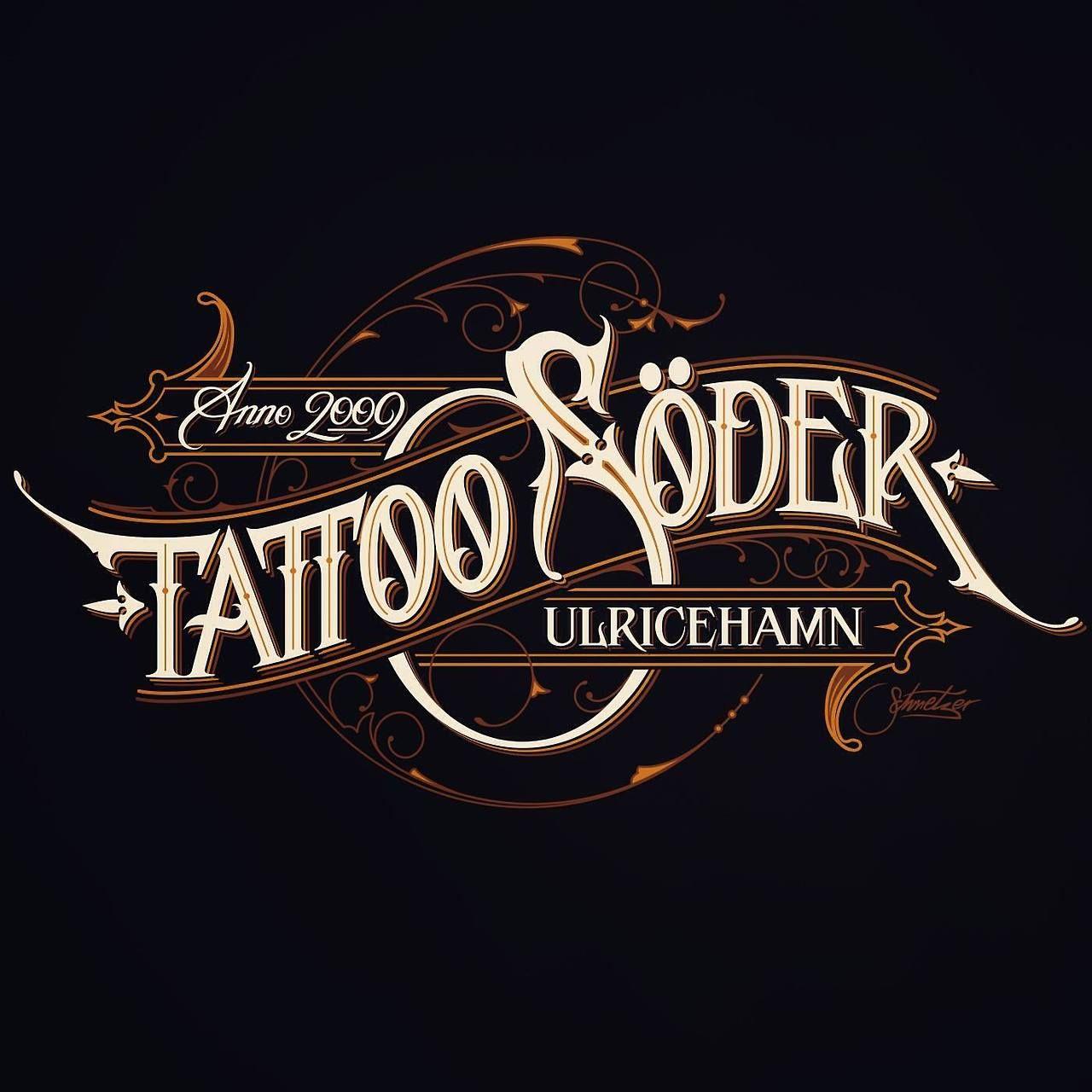 Tattoo Söder by Martin Schmetzer Lettering design