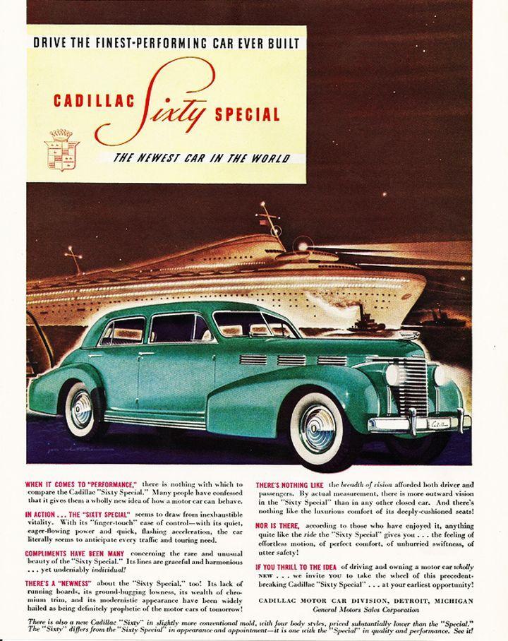 1938 Lasalle | old car ads home | old car brochures | old car manual ...