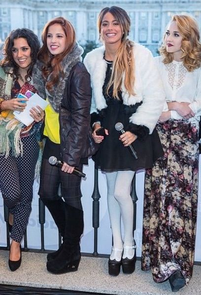 En el balcon del Teatro en Madrid antes del show para #ViolettaLive !!!,