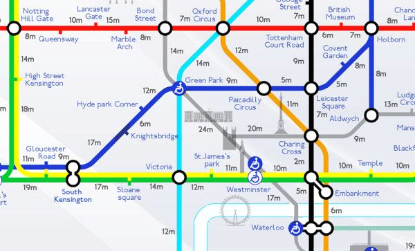 The Tube: Introducing the Walking Distance Tube Map - How ... on map of kerala, map of texas with mileage, map maps, map travel, map design, map longitude, map of all montana towns, map state, map language, map key legend, map orientation, map region, map clock, map of texas speed limits, map history, map making, map date, map online, map my run, map of irish hills michigan,