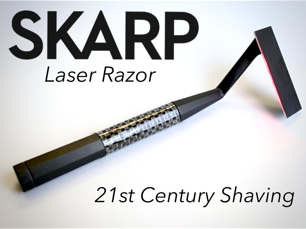 Miniature de la vidéo du projet The Skarp Laser Razor: 21st Century Shaving