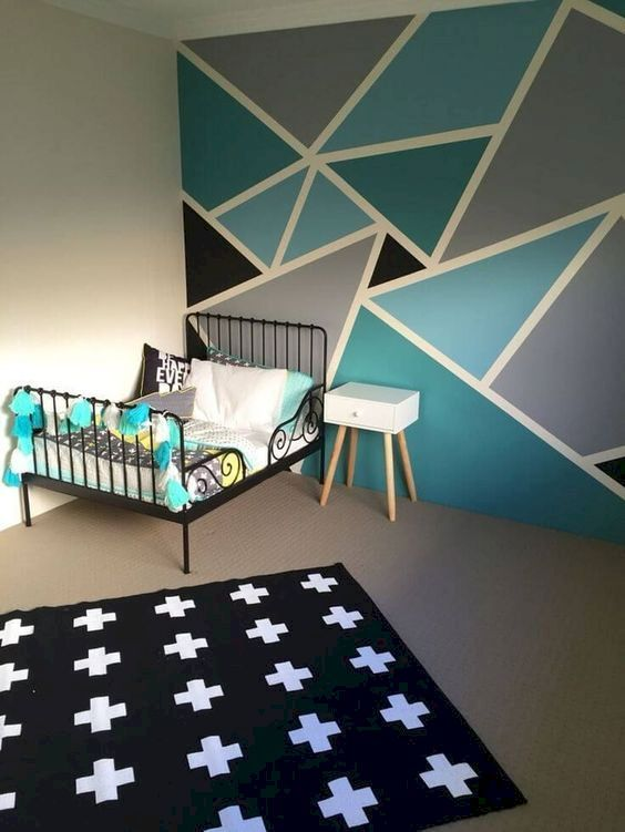 12 DIY Wall Painting Ideas To Refresh Your Home images