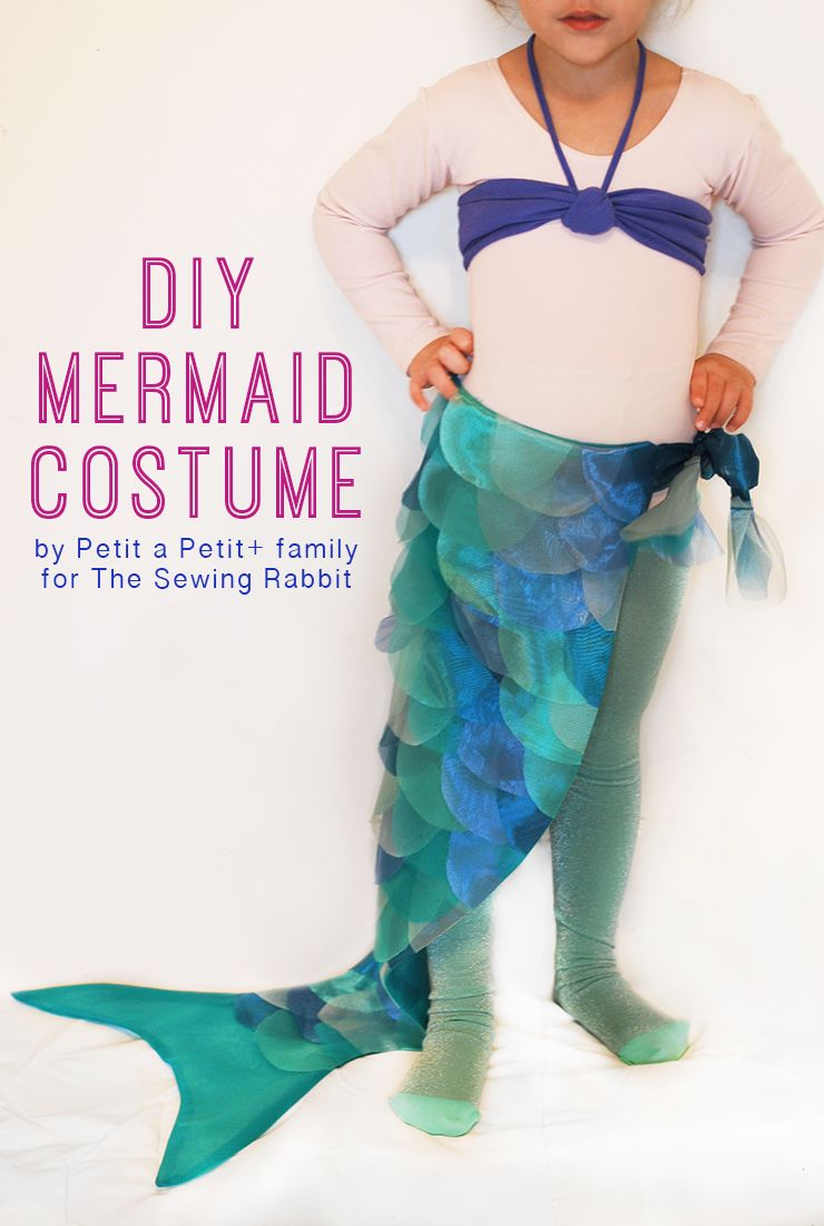 diy mermaid costume kost m fasching und karneval. Black Bedroom Furniture Sets. Home Design Ideas