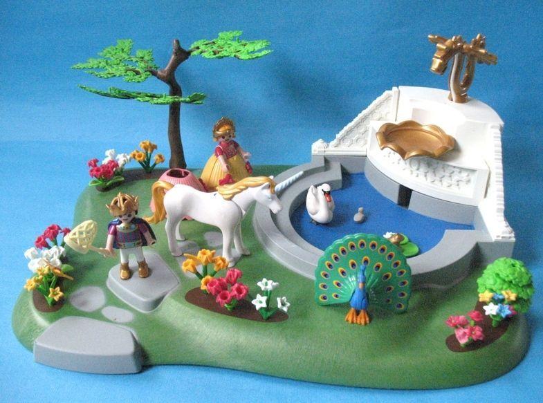 playmobil fes licorne et fontaine magique rf 4137