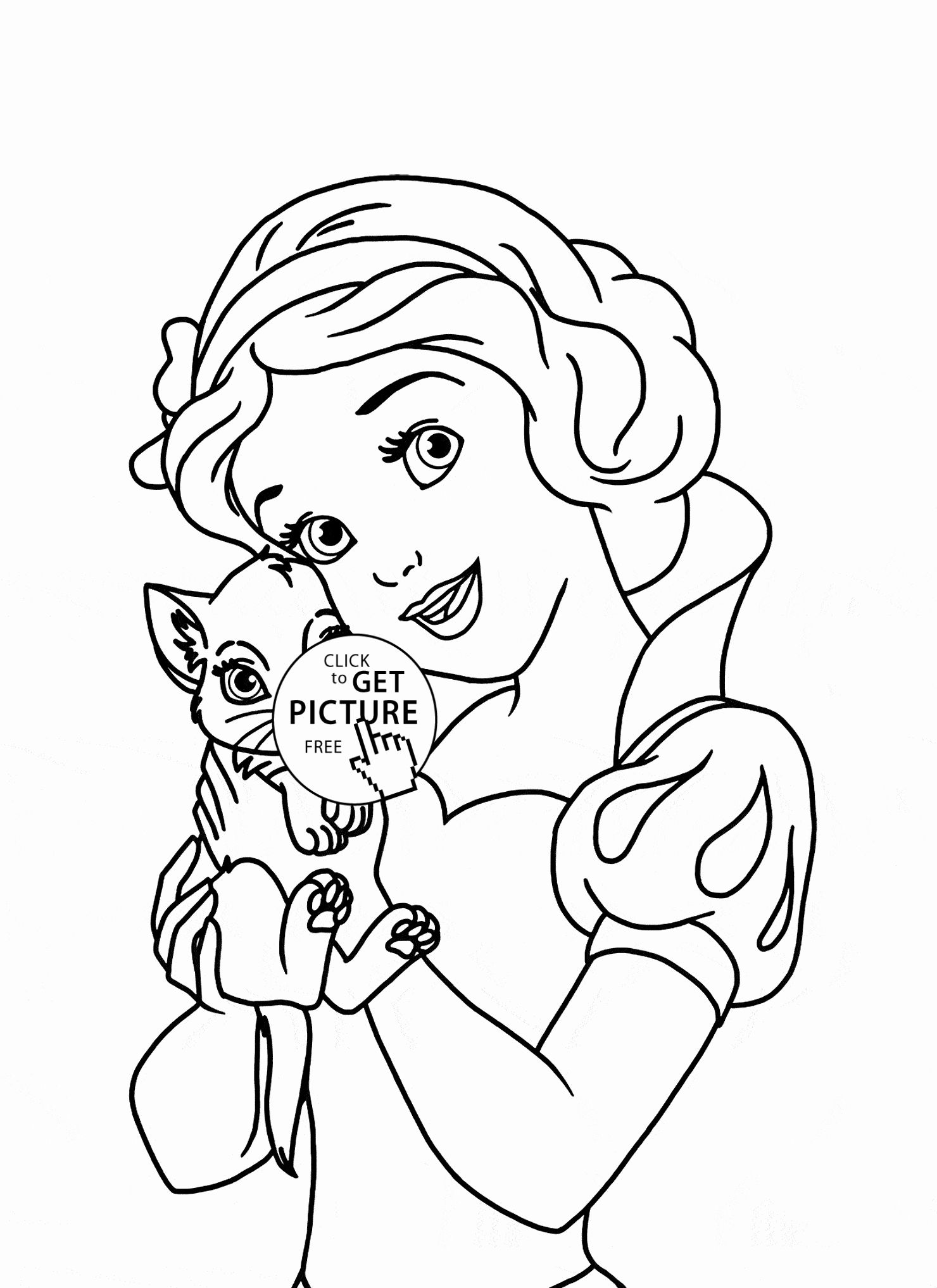 Princess Coloring Games Online Luxury Princess Cat Coloring Page Coloring Home