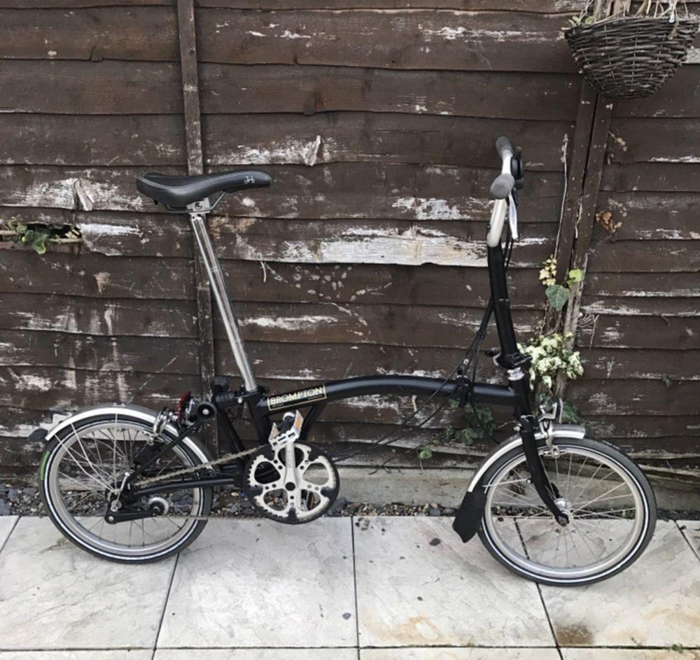 Latest Brompton Bike For Sales Bromptonbike Brompton Brompton Folding Bike 3 Speed 1 29 1 Bid End Date Monday N Folding Bike Brompton Commuter Bicycle