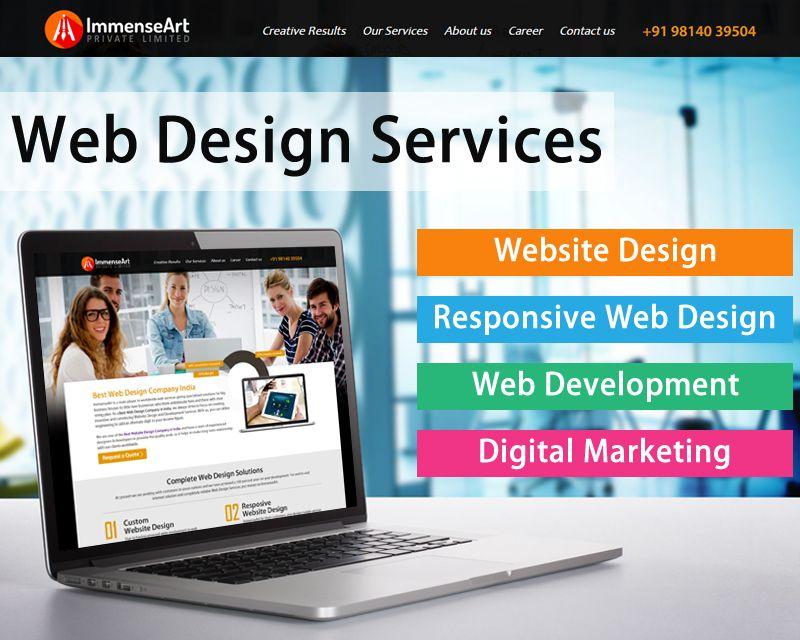 Web Design Services Chandigarh Chandigarh Website Design Development Company Specialized In Custom W Website Design Web Design Services Custom Website Design
