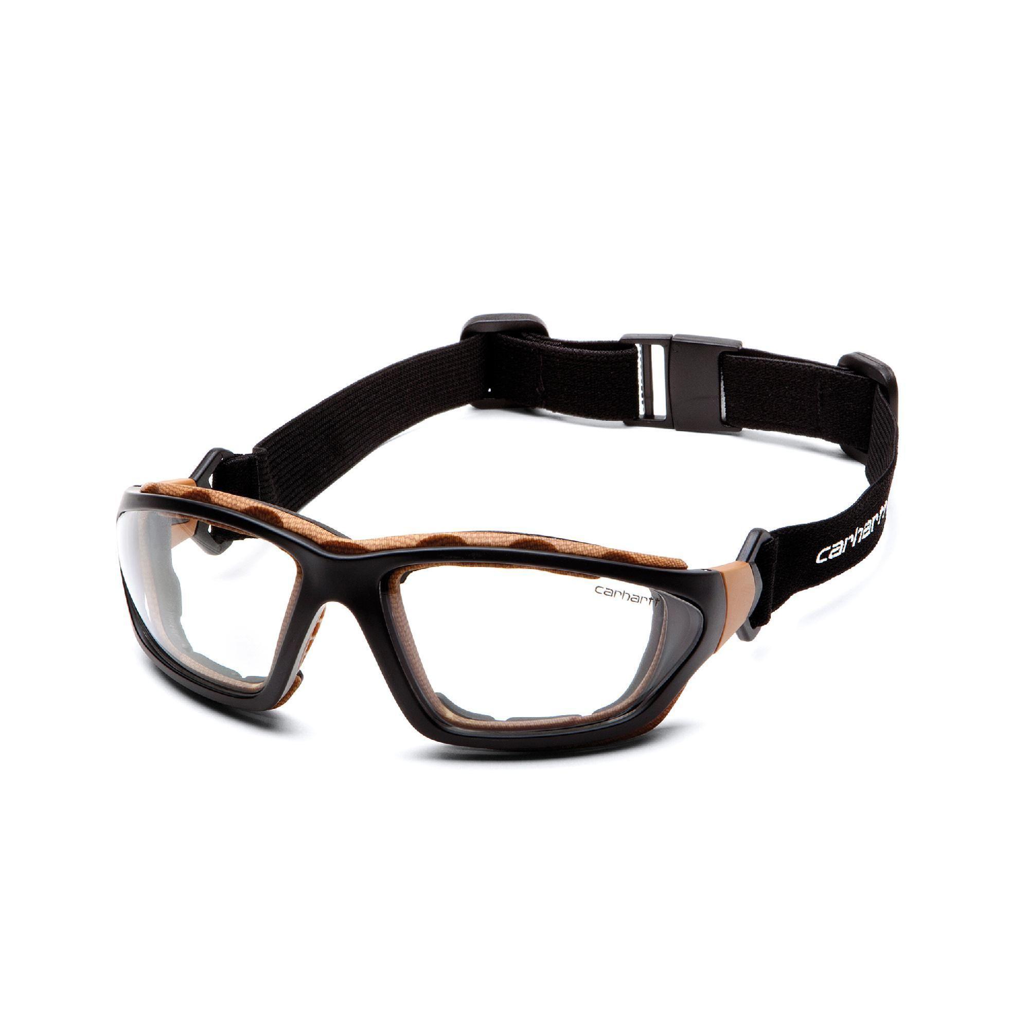 Carhartt carthage safety glasses clear antifog lens