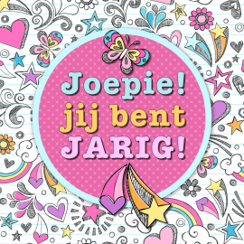 verjaardagskaart meisje Joepie! Jij bent jarig! #Hallmark #HallmarkNL #happybirthday  verjaardagskaart meisje
