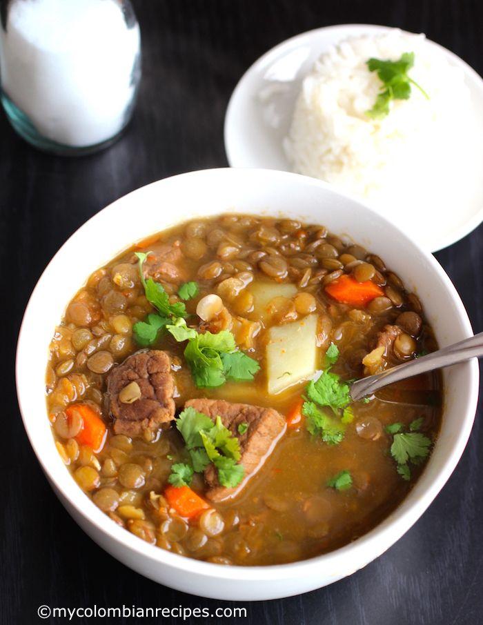 Sopa de Lentejas con Carne (Lentils and Beef Soup) – Çorba Tarifleri