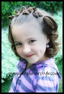 Girly Do Hairstyles: By Jenn: Flowers in Hair {part two}
